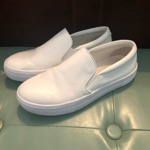 Steve Madden white leather Gills sneakers 8